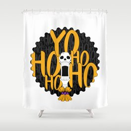 Pirates Life for me (yellow) Shower Curtain