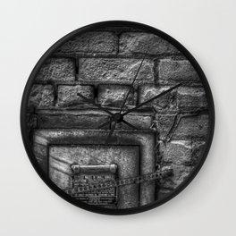 Deposit Waste in Small Bundles Wall Clock