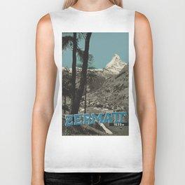 Vintage poster - Zermatt Biker Tank