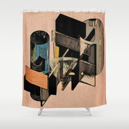 The Architecture Student Element House Dream Shower Curtain