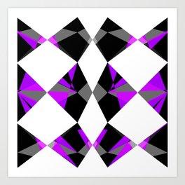 Gemstones Purple Art Print