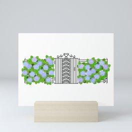 Segno Gate & Fermata Hydrangea Mini Art Print