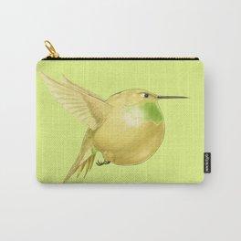 Hh - Honeybird // Half Hummingbird, Half Honeydew Melon Carry-All Pouch