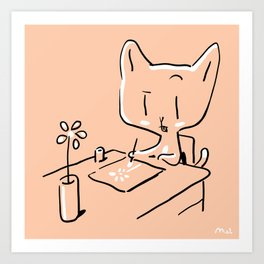 The Joy of Drawing Art Print
