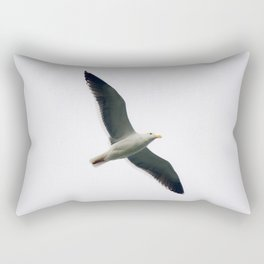Simple Seagull Rectangular Pillow