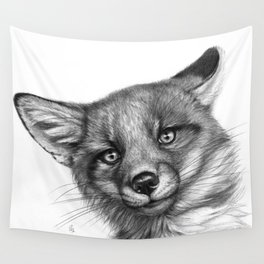 Fox Cub G139 Wall Tapestry