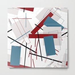 geometricos Metal Print