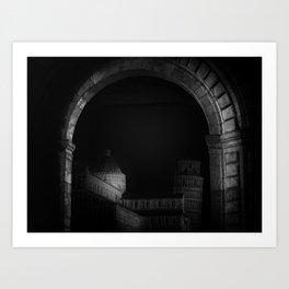 Pisa. Art Print