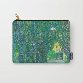 "Gustav Klimt ""Avenue in the park in front of Schloss Kammer"" Carry-All Pouch"