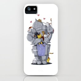 Fullmetal Alchemist Alphonse Chibi iPhone Case