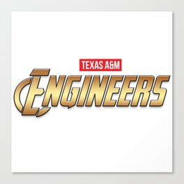 Texas A&M Engineers Canvas Print