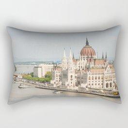 Budapest Parliament Rectangular Pillow