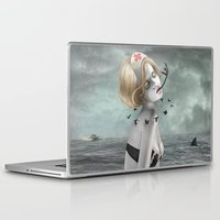 nurse Laptop & iPad Skins featuring The Nurse by Dolce Babanne