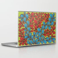 good vibes Laptop & iPad Skins featuring Good Vibes by Sarah J Bierman