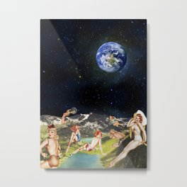 THE SECRET PLANET Metal Print