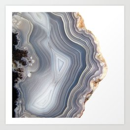 Dreamy Agate Art Print