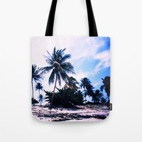 cuba Tote Bags featuring Cuba by very giorgious