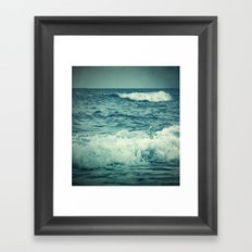 The Sea IV. Framed Art Print