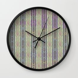 Wallpaper Inspirations - Sparkling Greens Wall Clock
