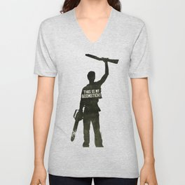 This is my Boomstick! Unisex V-Neck