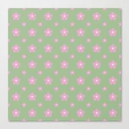 Sakura Pattern Canvas Print