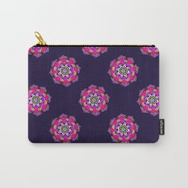 Mandala in Purple Carry-All Pouch