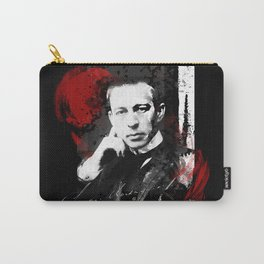 Sergei Rachmaninoff - Russian Pianist, Composer, Conductor Carry-All Pouch