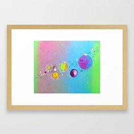 Playtime Among the Stars Framed Art Print