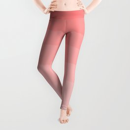 Grapefruit Blush Gradient Ombre Leggings