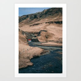House by the River Art Print