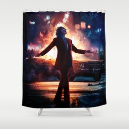 JOKER - Beauty in Tragedy Shower Curtain