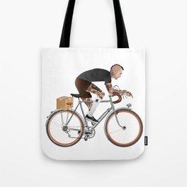 Bike Driver Tote Bag