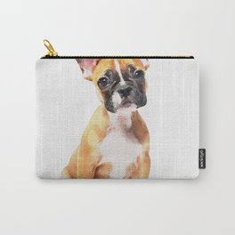 French Bulldog Puppy Watercolor Carry-All Pouch