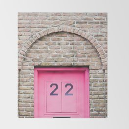 Door Number 22 Throw Blanket