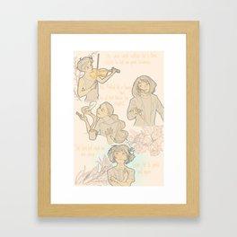 Art Improves Nature 2/2 Framed Art Print