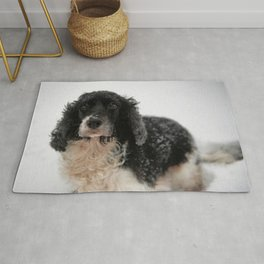 Dog by Dave Francis Rug