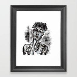 Sometimes I wonder Framed Art Print