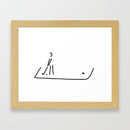 Mini-golf golf Garden golf Road golf Framed Art Print