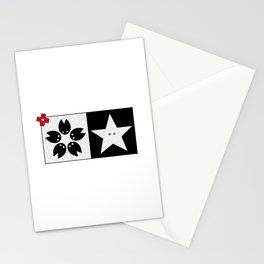 Sakura X Star Stationery Cards