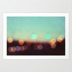 a lover of the light Art Print