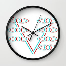Evangelion Lilith eyes Wall Clock