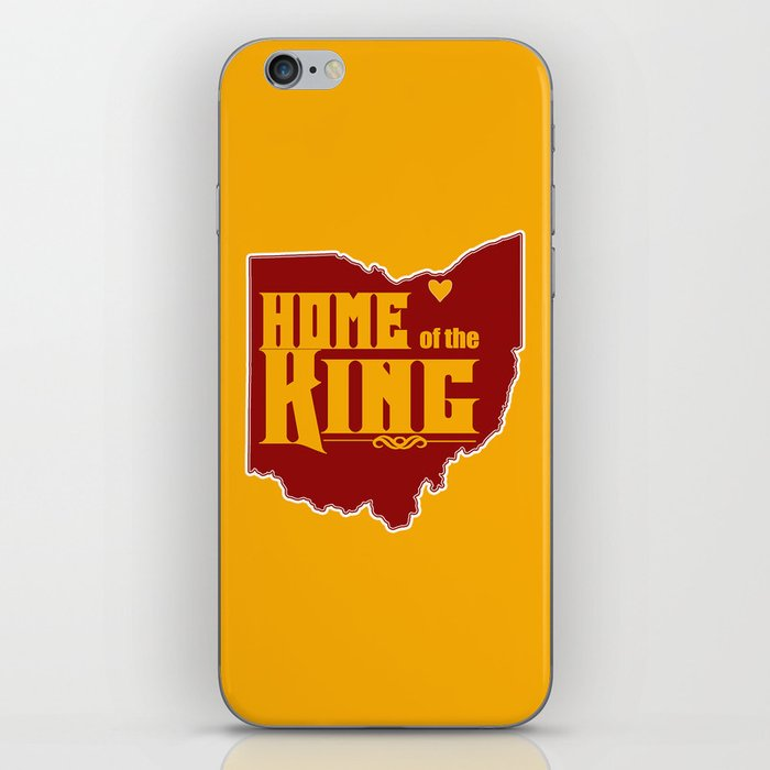 Home of the King (Yellow) iPhone Skin