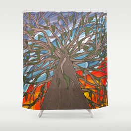 Dreamin' Up Shower Curtain