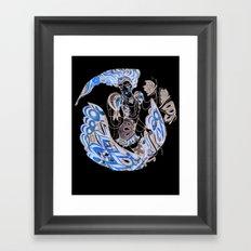Harlequin Series 3 Framed Art Print