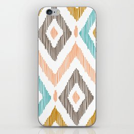 Sketchy Diamond IKAT iPhone Skin