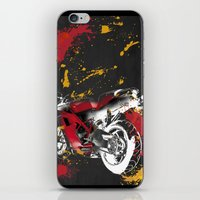 ducati iPhone & iPod Skins featuring Ducati 1098 Color Spots by Larsson Stevensem