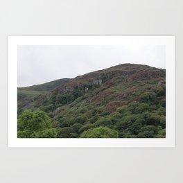 Wales Landscape 3 Cader Idris Art Print