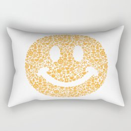Smiley Rectangular Pillow