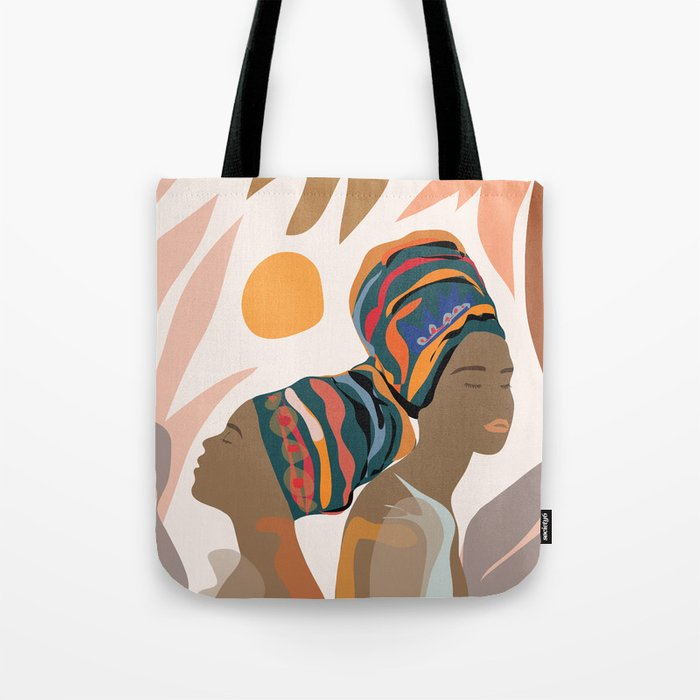 Women with the Turbans Tote Bag