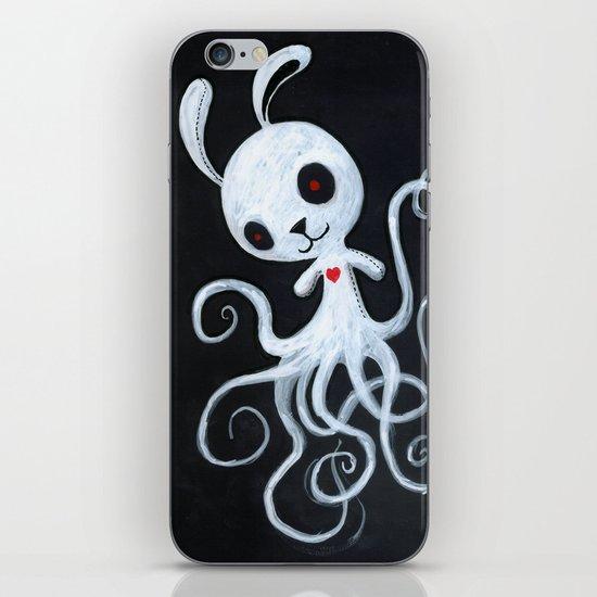 bunnnypus in the dark iPhone & iPod Skin